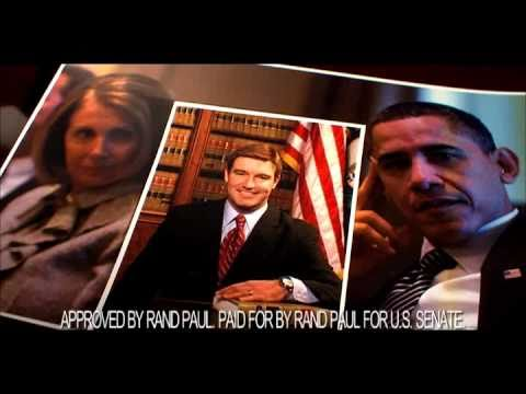 Rand Paul - Jack Conway's Stamp of Approval of Obama